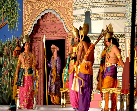 Ramlila In Delhi: Visuals of Ramayana