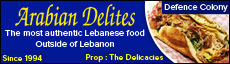 Arabian Delites Restaurant, Caterers in Defence Colony